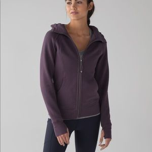 Lululemon Scuba Hoodie IV Black Currant purple